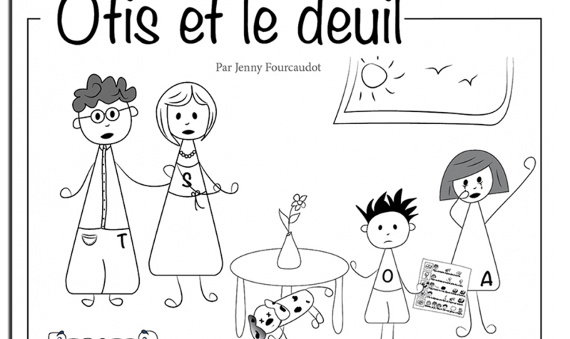 Livre Otis et le deuil de Jenny Fourcaudot