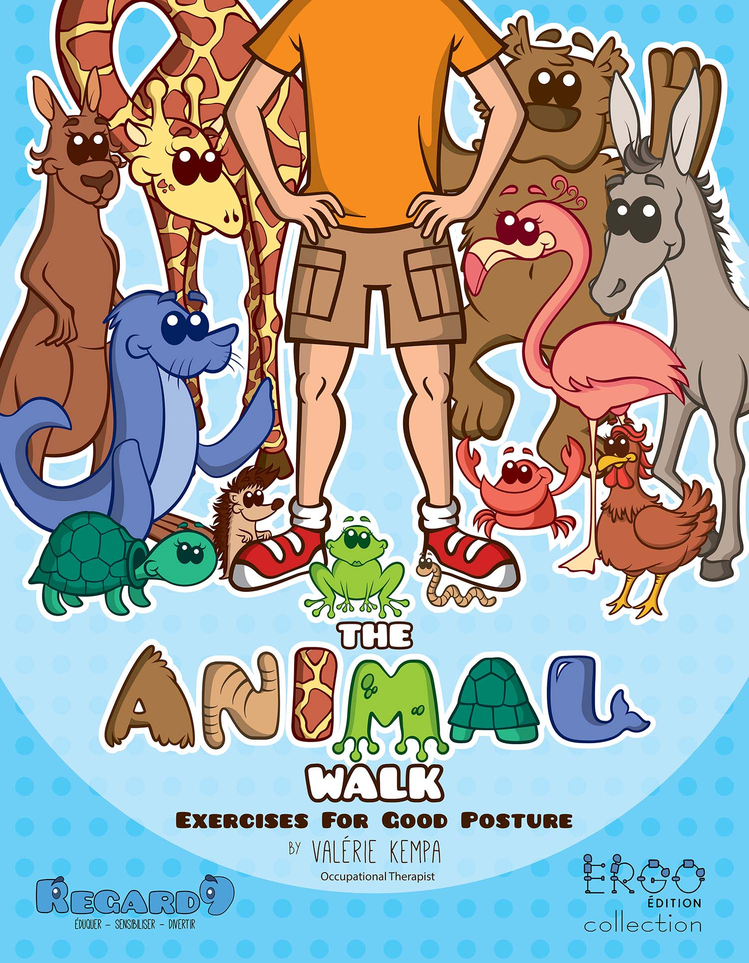 The Animal Walk Occupational Therapist Book